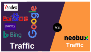 Comparison between NeoBux and Google Traffic